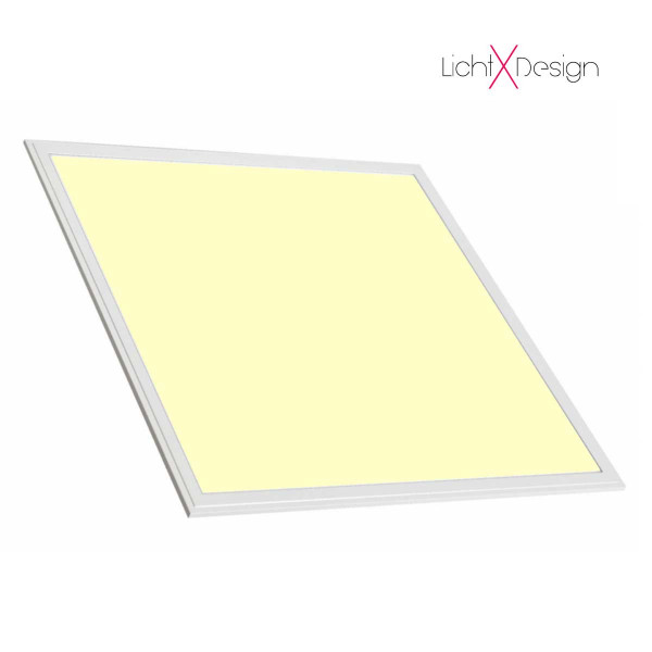 LED-Panel 62x62 cm - Warmweiß - 3000K - 3600LM - 40W - CRI>90